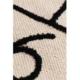 Tapis rectangulaire en coton (110x62 cm) Indi Kids, image miniature 4