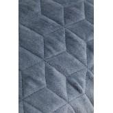 Coussin carré en velours (40x40 cm) Sinus, image miniature 4