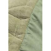Coussin carré en velours (40x40 cm) Sinus, image miniature 3