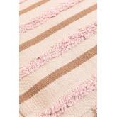 Pouf carrée en coton Yampi, image miniature 4