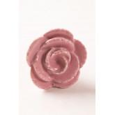 Lot de 2 poignées en céramique rose, image miniature 3