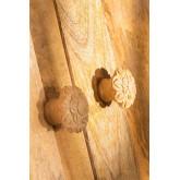 Ensemble de 2 poignées en bois Greta, image miniature 2