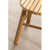 Tabouret bas en bambou Dilio, image miniature 5
