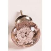 Ensemble de 2 poignées en verre à bulles, image miniature 3