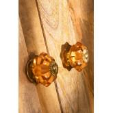 Ensemble de 2 boutons en cristal Dagny, image miniature 2