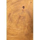 Table d'appoint en bois naturel Kolej, image miniature 4