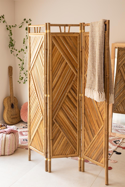 Paravent en bambou Stanly, image de la galerie 1