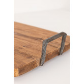 Support en bois recyclé Baka, image miniature 4