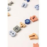 Puzzle avec des chiffres en bois Nemi Kids, image miniature 4