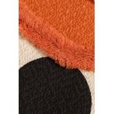 Coussin avec broderie en coton (45x45 cm) Falbus, image miniature 3
