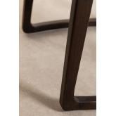 Tabouret bas en bois de teck Somy, image miniature 6
