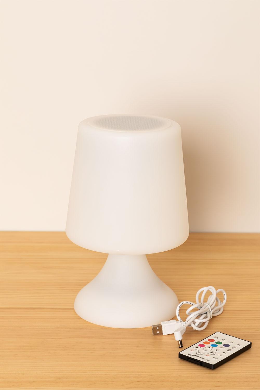 Lampe LED avec haut-parleur Bluetooth pour Ilyum extérieur, image de la galerie 1