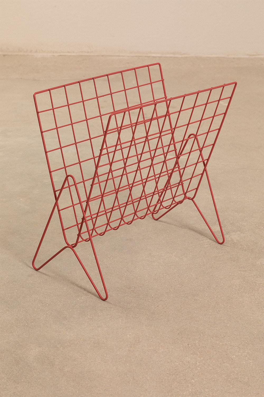 Porte-revues en métal Bruno, image de la galerie 1