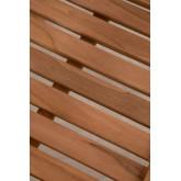 Chaise de jardin avec accoudoirs en bois de teck Pira, image miniature 5