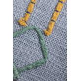 Coussin rectangulaire en coton (40x60 cm) Kansas, image miniature 4