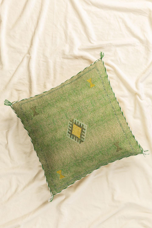 Coussin carré en coton (50x50cm) Lozi, image de la galerie 1