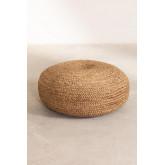 Pouf rond en jute Pilew, image miniature 3