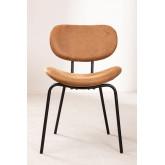 Chaise de salle à manger en similicuir Abix, image miniature 3