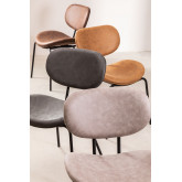 Chaise de salle à manger en similicuir Abix, image miniature 6