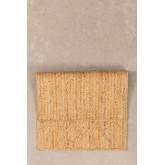 Paillasson tressé XL en Jute (90x60 cm) Elaine, image miniature 2