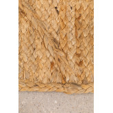 Paillasson tressé XL en Jute (90x60 cm) Elaine, image miniature 3