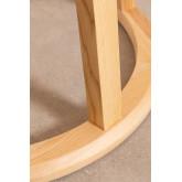 Table à manger ronde en bois (Ø120 cm) Celest, image miniature 5