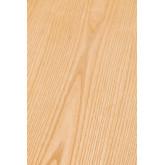 Table à manger ronde en bois (Ø120 cm) Celest, image miniature 6