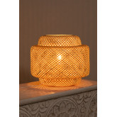 Lampe de table en bambou Lexie, image miniature 4