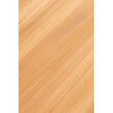 Table basse en bois de teck Memphis, image miniature 6