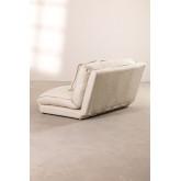 Canapé-lit 2 places en tissu Salma, image miniature 6