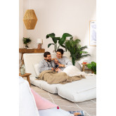 Canapé-lit 2 places en tissu Salma, image miniature 2