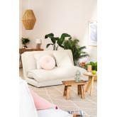 Canapé-lit 2 places en tissu Salma, image miniature 1