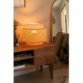 Lampe de table en bambou Lexie, image miniature 2