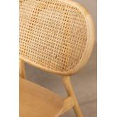 Chaise en bois d'orme Afri, image miniature 5