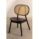 Chaise en bois d'orme Afri, image miniature 2