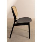 Chaise en bois d'orme Afri, image miniature 3