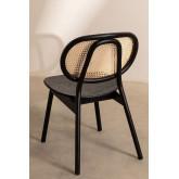 Chaise en bois d'orme Afri, image miniature 4