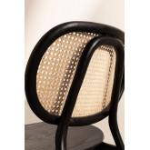 Chaise en bois d'orme Afri, image miniature 6
