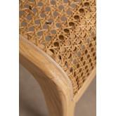 Chaise de salle à manger en bois d'orme Asly, image miniature 6