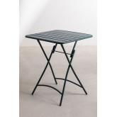 Ensemble de tables pliantes Janti (60x60 cm) et 2 chaises de jardin pliantes Janti, image miniature 3