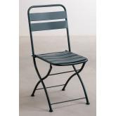 Ensemble de tables pliantes Janti (60x60 cm) et 2 chaises de jardin pliantes Janti, image miniature 4