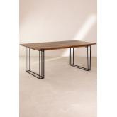 Table à manger rectangulaire en manguier (180x90 cm) Betu, image miniature 2