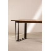 Table à manger rectangulaire en manguier (180x90 cm) Betu, image miniature 4