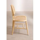 Chaise de salle à manger en bois Leila Elm, image miniature 2