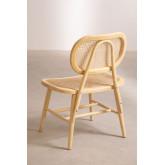 Chaise de salle à manger en bois Leila Elm, image miniature 3