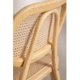 Chaise de salle à manger en bois Leila Elm, image miniature 4