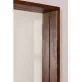 Miroir mural rectangulaire en bois (120x80 cm) Bartel, image miniature 2