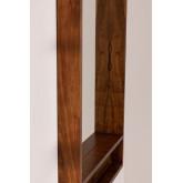 Miroir mural rectangulaire en bois (120x80 cm) Bartel, image miniature 3