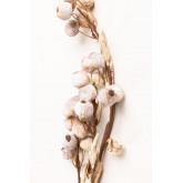 Lot de 2 branches artificielles fleur de prunier, image miniature 3