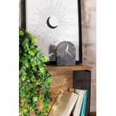 Horloge de table en ciment Enpunt, image miniature 1